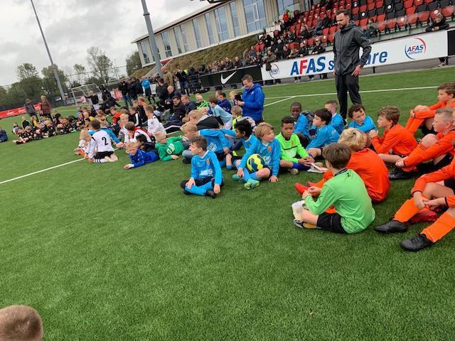 Mooie voetbaldag FC Den Helder JO-10
