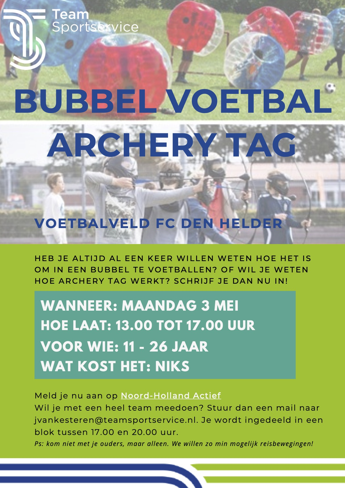 Bubbel voetbal-Archery Tag