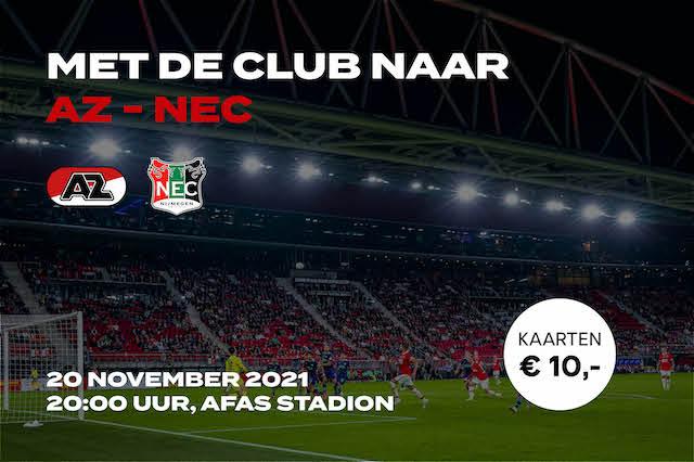 Uitnodiging AZ-NEC