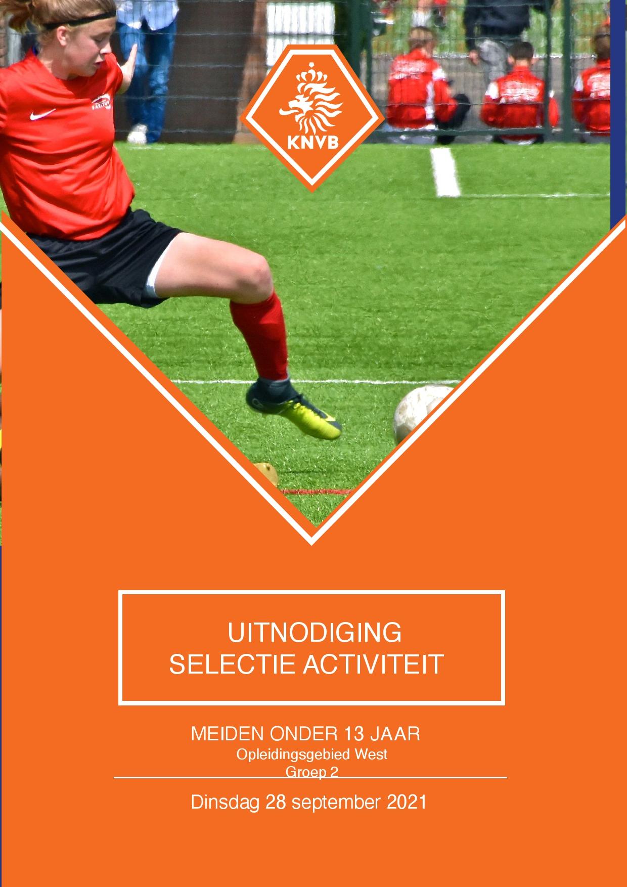 Uitnodiging KNVB