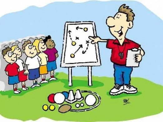 Trainers werken aan de opleiding van FC Den Helder